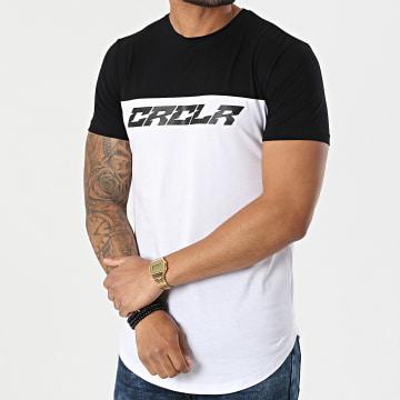 C'est Rien C'est La Rue - Tee Shirt Oversize Bicolore New Typo Blanc Noir