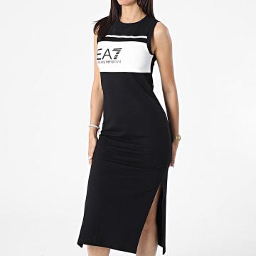 EA7 Emporio Armani - Robe Débardeur Femme 3KTA61-TJ31Z Noir