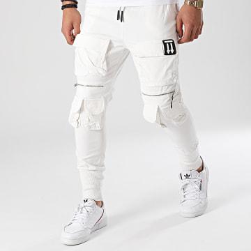 Ikao - Jogger Pant LL435 Blanc