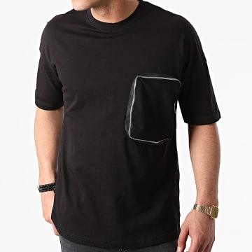 Ikao - Tee Shirt Poche LL439 Noir