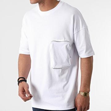 Ikao - Tee Shirt Poche LL439 Blanc