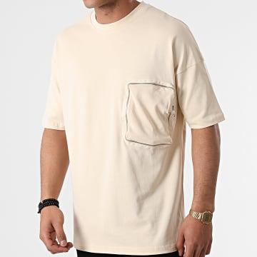 Ikao - Tee Shirt Poche LL439 Beige