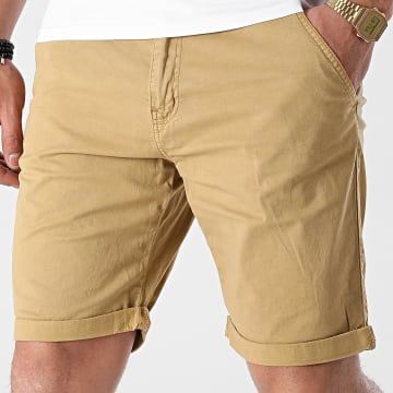 Indicode Jeans - Short Chino Conor 70-060 Sable