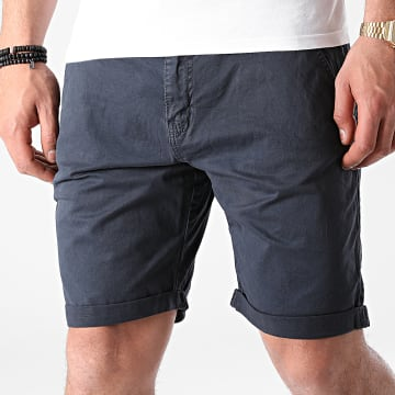 Indicode Jeans - Short Chino Conor 70-060 Bleu Marine