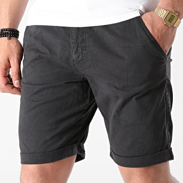 Indicode Jeans - Short Chino Conor 70-060 Noir