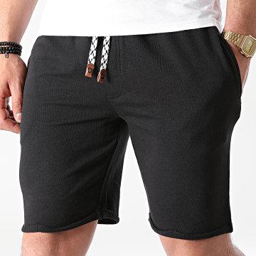 Indicode Jeans - Short Jogging Aldrich 70-043 Noir