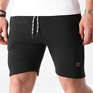 Indicode Jeans - Short Jogging Brennan 70-442 Noir