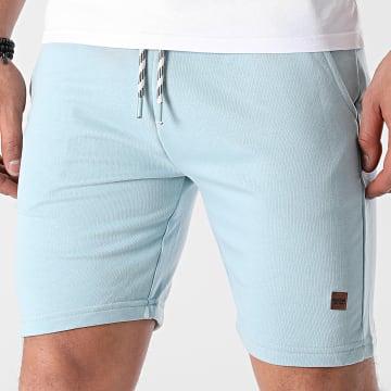 Indicode Jeans - Short Jogging Brennan 70-442 Bleu Clair