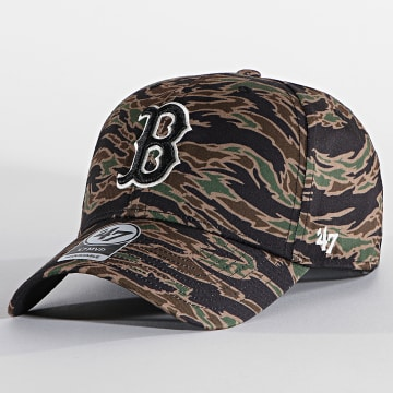 '47 Brand - Casquette MVP Adjustable DRZMV02PTP Boston Red Sox Tiger Camo Vert Kaki