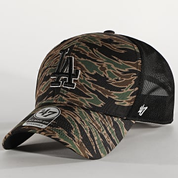 '47 Brand - Casquette Trucker MVP DP Adjustable DRZNM12PTP Los Angeles Dodgers Camo Vert Kaki