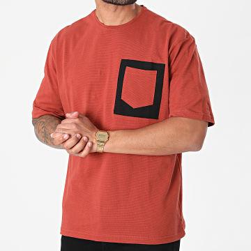 Armita - Tee Shirt Poche AJT-835 Brique