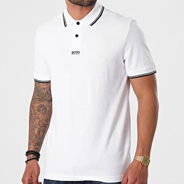 BOSS - Polo Manches Courtes 50449367 Blanc