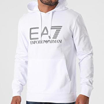 EA7 Emporio Armani - Sweat Capuche 3KPM62-PJ05Z Blanc