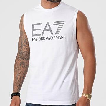 EA7 Emporio Armani - Tee Shirt Sans Manches 3KPT80-PJ02Z Blanc