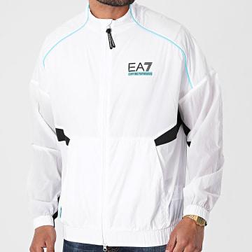 EA7 Emporio Armani - Veste Zippée 3KPM94-PN84Z Blanc