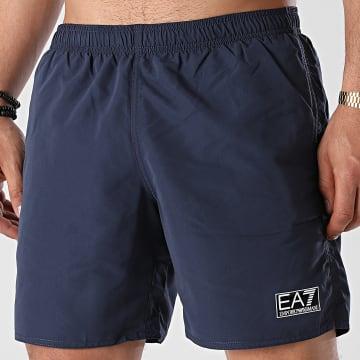 EA7 Emporio Armani - Short De Bain 902052-1P730 Bleu Marine