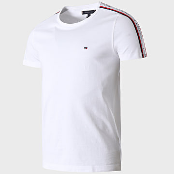 Tommy Hilfiger - Tee Shirt A Bandes 7659 Blanc