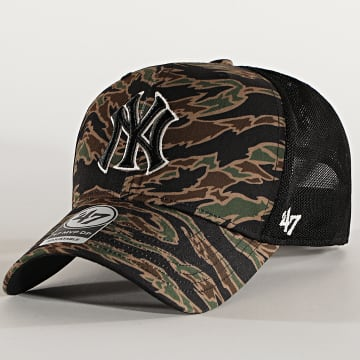 '47 Brand - Casquette Trucker MVP DP Adjustable DRZNM17PTP New York Yankees Camo Vert Kaki