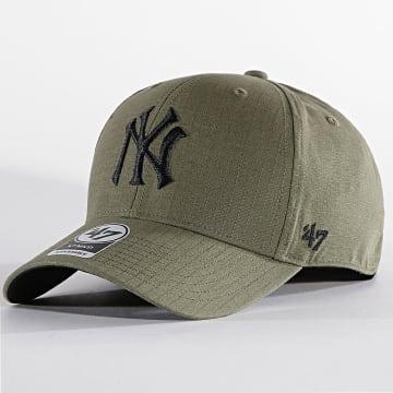 '47 Brand - Casquette MVP Adjustable GRDLM17RCP New York Yankees Vert Kaki