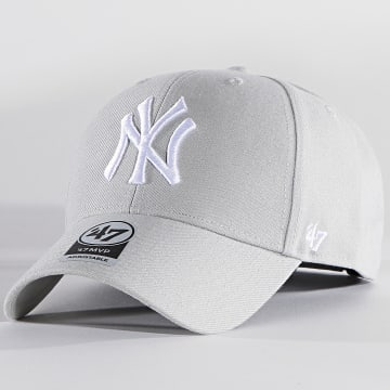 '47 Brand - Casquette MVP Adjustable MVP17WBV New York Yankees Gris