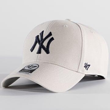 '47 Brand - Casquette MVP Adjustable MVP17WBV New York Yankees Beige