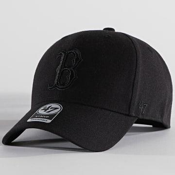 '47 Brand - Casquette MVP Adjustable MVPSP02WBP Boston Red Sox Noir