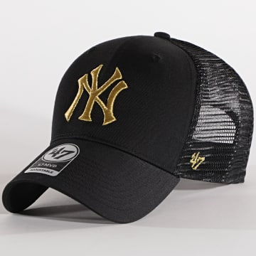 '47 Brand - Casquette Trucker MVP Adjustable BRMTL17CTP New York Yankees Noir Doré