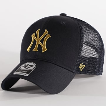 '47 Brand - CasquetteTrucker MVP Adjustable BRMTL17CTP New York Yankees Bleu Marine