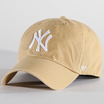 '47 Brand - Casquette Clean Up Adjustable RGW17GWS New York Yankees Camel