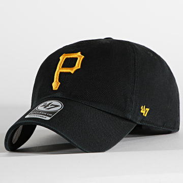 '47 Brand - Casquette Clean Up Adjustable RGW20GWS Pittsburgh Pirates Noir