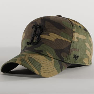 '47 Brand - Casquette MVP Adjustable GRVSP02CNP Boston Red Sox Camo Vert Kaki