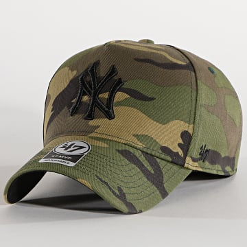 '47 Brand - Casquette MVP Adjustable GRVSP17CNP New York Yankees Camo Vert Kaki