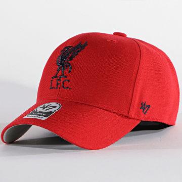 '47 Brand - Casquette MVP Adjustable MVP04WBV Liverpool FC Rouge