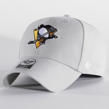 '47 Brand - Casquette MVP Adjustable MVP15WBV Pittsburgh Penguins Gris