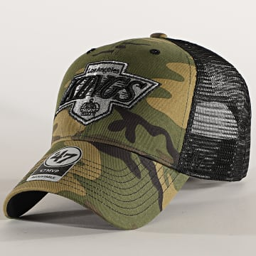 '47 Brand - Casquette Trucker MVP Adjustable CBRAN08GWP Los Angeles Kings Camo Vert Kaki