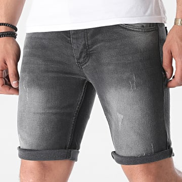 Armita - Short Jean Slim 1751 Gris Anthracite