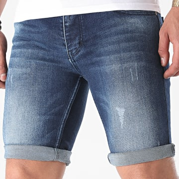 Armita - Short Jean Slim 1751 Bleu Denim