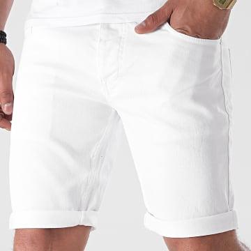 Armita - Short Jean 1749 Blanc