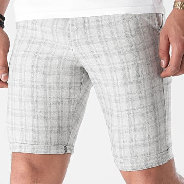 Armita - Short Chino A Carreaux CPR-452 Beige