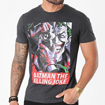 DC Comics - Tee Shirt MEBATMBTS116 Gris Anthracite Chiné