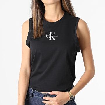 Calvin Klein - Débardeur Femme Monogram 6578 Noir