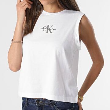 Calvin Klein - Débardeur Femme Monogram 6578 Blanc