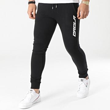 C'est Rien C'est La Rue - Pantalon Jogging New Typo Noir Blanc