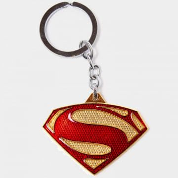 DC Comics - Porte-Clés Superman Shiny Rouge