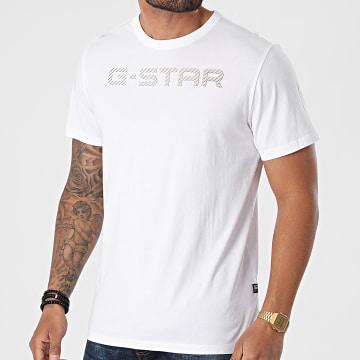 G-Star - Tee Shirt D20482-336 Blanc