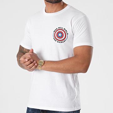 Marvel - Tee Shirt MEFALCOTS009 Blanc