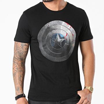 Captain America - Tee Shirt MECAPTMTS005 Noir