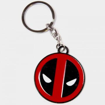 Deadpool - Porte-clés Logo Noir Rouge