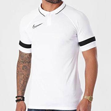 Nike - Polo Manches Courtes Academy 21 Blanc