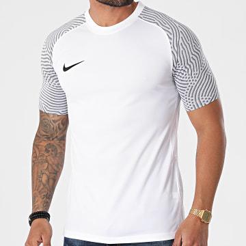 Nike - Tee Shirt De Sport Trikot Strike II Jersey Blanc Gris